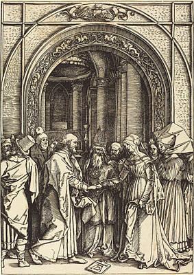 Albrecht Dürer German, 1471 - 1528, The Betrothal Art Print