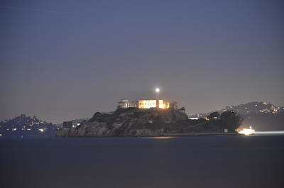 Photograph - Alcatraz by Alex King
