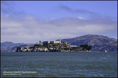 Photograph - Alcatraz San Francisco Bay    by LeeAnn McLaneGoetz McLaneGoetzStudioLLCcom