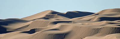 Photograph - Aldogones Dunes Pan 2 by Jeff Brunton