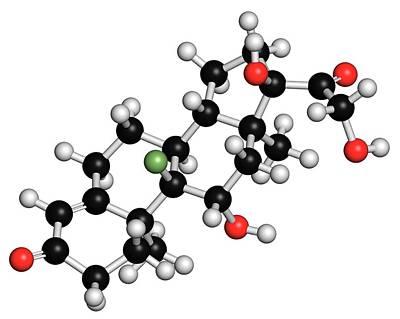 Aldosterone Hormone Substitution Drug Art Print