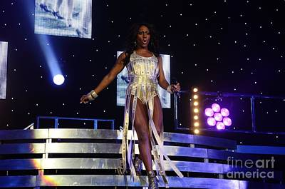 Photograph - Alexandra Burke by Jenny Potter