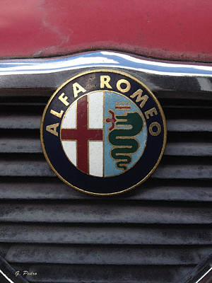 Painting - Alfa Romeo by George Pedro