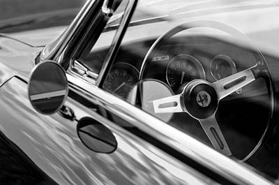 Photograph - Alfa Romeo Steering Wheel by Jill Reger