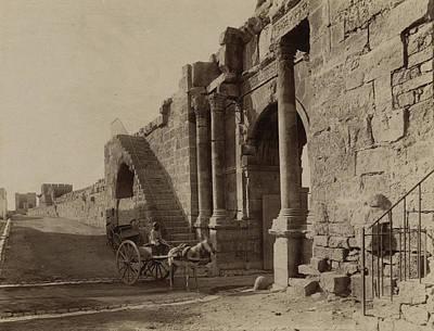 Algeria Arch Of Caracalla Art Print by Granger