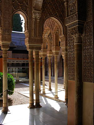 Photograph - Alhambra - Grenada Spain by Jacqueline M Lewis