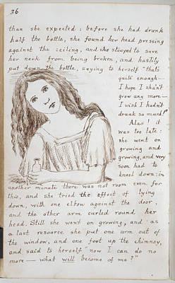 Alice's Adventures Under Ground Art Print
