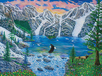 Painting - All Creation Cries Out. by Mike De Lorenzo