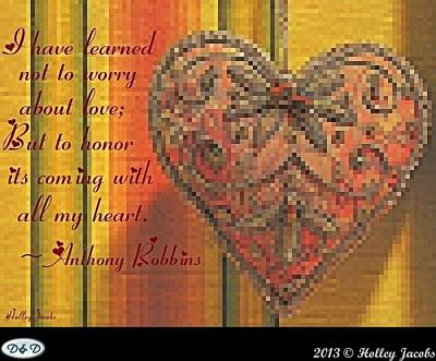 Digital Art - All My Heart by Holley Jacobs