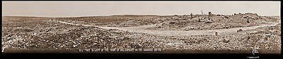 Maas Wall Art - Photograph - All That Is Left Of The Town by Fred Schutz Collection