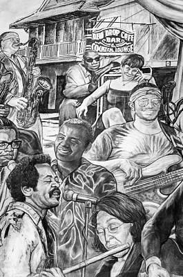 All That Jazz Print by Steve Harrington
