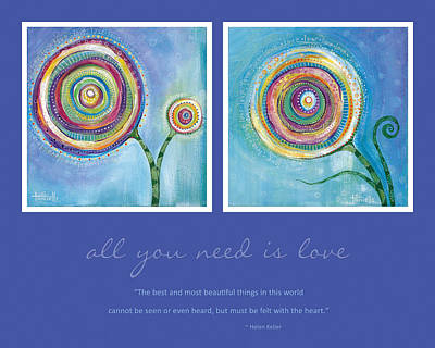 Painting - All You Need Is Love by Tanielle Childers