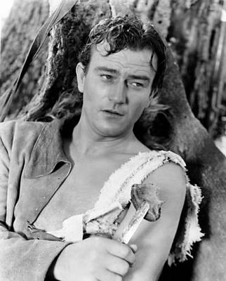 Torn Clothing Photograph - Allegheny Uprising, John Wayne, 1939 by Everett