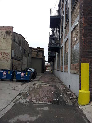 Photograph - Alley 11 by Zac AlleyWalker Lowing
