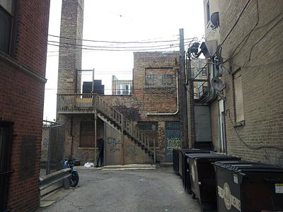 Photograph - Alley 16 by Zac AlleyWalker Lowing
