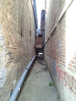 Photograph - Alley 18 by Zac AlleyWalker Lowing