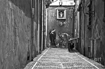 Naples Italy Photograph - Alleyway by Marion Galt