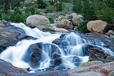 Photograph - Alluvial Fan Falls In Rocky Mountain National Park by Fred Stearns