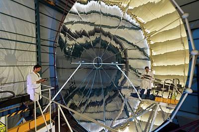 Almeria Solar Platform Research Centre Art Print