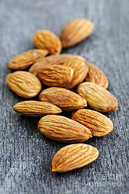Almond Photograph - Almonds by Elena Elisseeva
