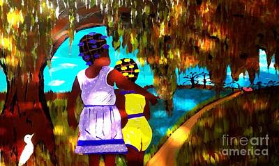 Painting - Almost Home    2 by Saundra Myles