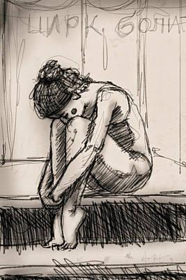 Alone Art Print by H James Hoff