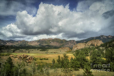 Photograph - Along Co Route 77 by David Waldrop