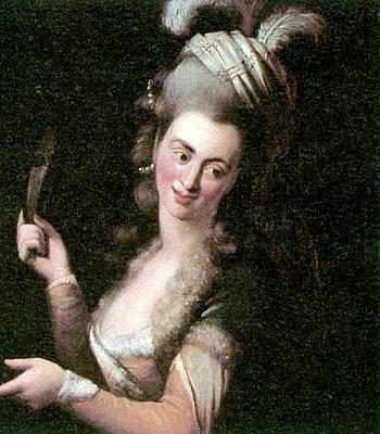 Character Portraits Painting - Aloysia Weber Lange (c1760-1839) by Granger