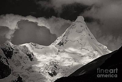 Photograph - Alpamayo Peru by Rudi Prott