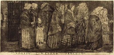 Alphonse Legros French, 1837 - 1911 Art Print