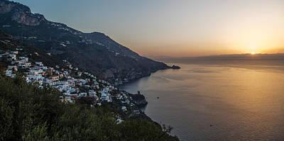 Photograph - Amalfi Sunrise by John Pike