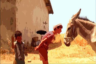 Fellini Painting - Amarcord by Dora Katanic