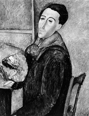Amadeo Modigliani Painting - Amedeo Modigliani (1884-1920) by Granger