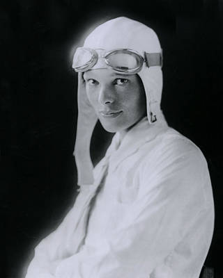 Retro Images Archive Photograph - Amelia Earhart by Retro Images Archive