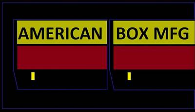 American Box Mfg Art Print