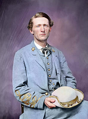 Mosby Photograph - American Civil War Colonel John S by Stocktrek Images