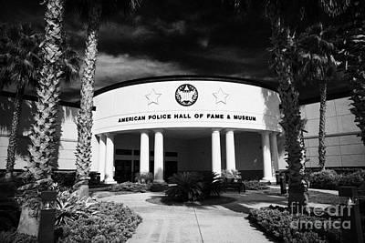 american police hall of fame and museum Florida USA Art Print by Joe Fox