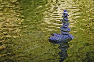 Photograph - American River Rock Art by Sherri Meyer