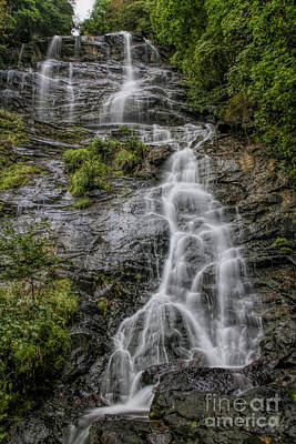 Photograph - Amicola Falls by Barbara Bowen