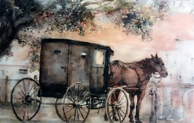 Amish Sunday Original by Rose Sinatra