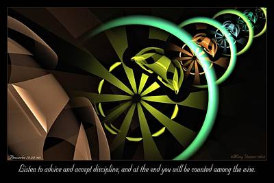 Digital Art - Counted Among The Wise by Missy Gainer