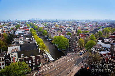 Photograph - Amsterdam Panorama by Michal Bednarek