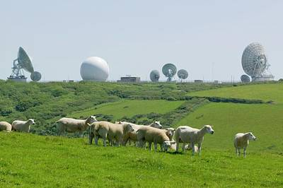 An Early Warning Radar Station Art Print