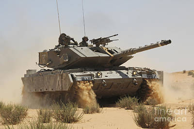 The Main Photograph - An Israel Defense Force Magach 7 Main by Ofer Zidon