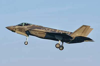 Joint Strike Fighter Photograph - An Israeli Air Force F-35i Adir by Daniele Faccioli
