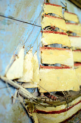 2d Photograph - An Old Ship In Full Sail  by Tommytechno Sweden