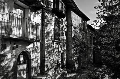 Prison Photograph - An Old Spanish Town Puente De Montanana by RicardMN Photography