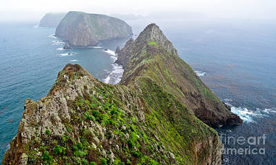Photograph - Anacapa Panorama by Jeff Loh
