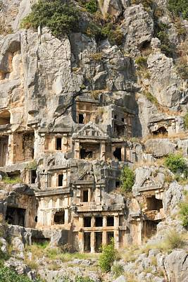 Ancient Rome Photograph - Ancient City Of Myra by David Parker