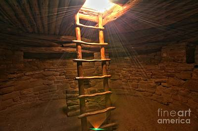 Photograph - Ancient Holy Light by Adam Jewell
